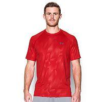 Men's Under Armour Tech Patterned Running Shirt