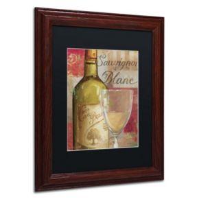 Trademark Fine Art Vin Abstract II Wood Finish Framed Wall Art