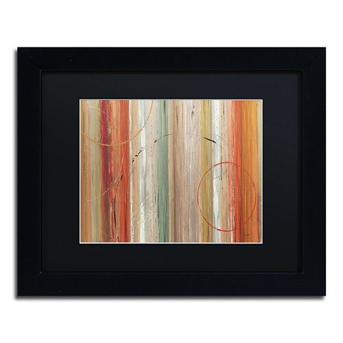 Trademark Fine Art Spiced II Black Framed Wall Art