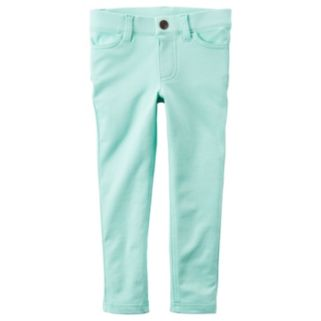 Girls 4-8 Carter's French Terry Colored Jeggings