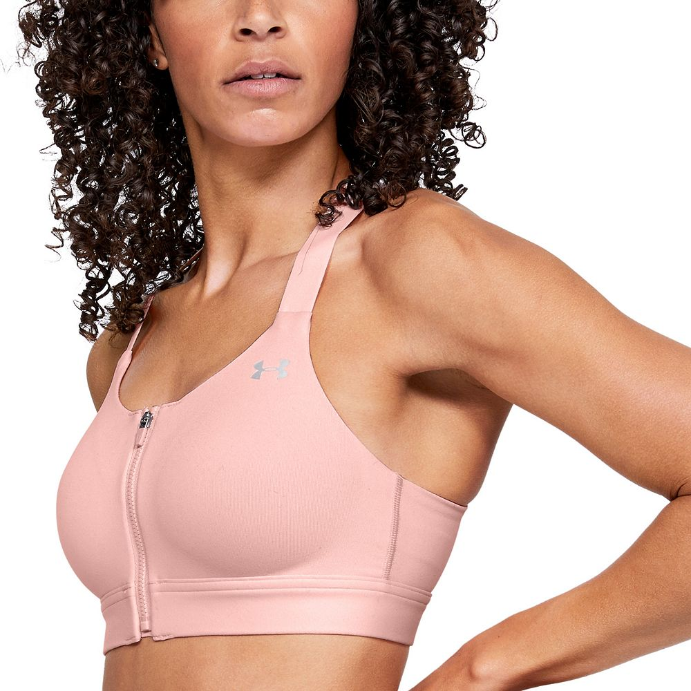 afe62961a985 Under Armour Eclipse Zip Front High-Impact Sports Bra 1293829