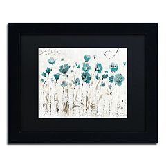 Trademark Fine Art Abstract Balance VI Black Framed Wall Art