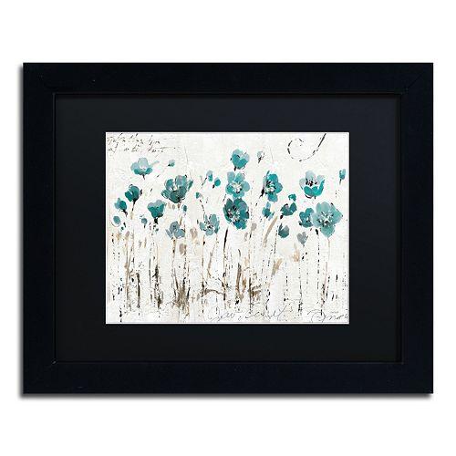 Trademark Fine Art Abstract Balance VI Black Framed Wall Art