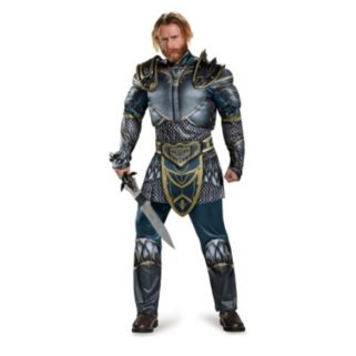 Adult Warcraft Anduin Lothar Muscle Costume