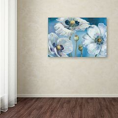 Trademark Fine Art Blue Dance I Canvas Wall Art