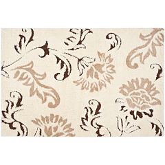 Safavieh Florida Traditional Floral Shag Rug