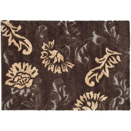 Safavieh Florida Traditional Floral Shag Rug