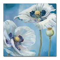 Trademark Fine Art Blue Dance II Canvas Wall Art
