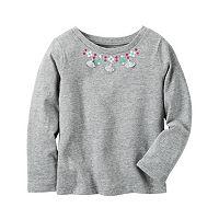 Girls 4-8 Carter's Tassel Necklace Top
