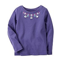 Girls 4-8 Carter's Tassel Necklace Top