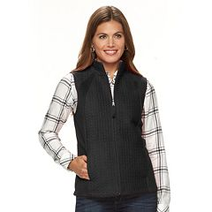 Womens Croft &amp Barrow Petite Coats &amp Jackets - Outerwear Clothing