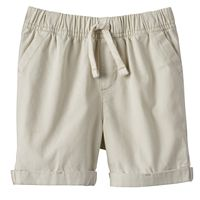 Baby Boy Jumping Beans® Cuffed Canvas Shorts