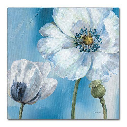 Trademark Fine Art Blue Dance III Canvas Art