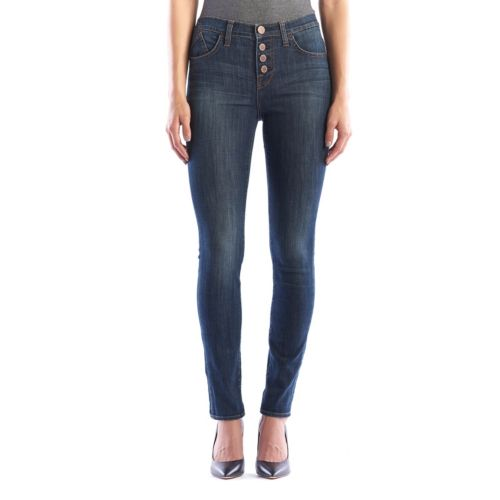 Women's Rock & Republic® Berlin Button-Fly Skinny Jeans
