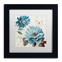 Trademark Fine Art A Blue Note III Black Framed Wall Art