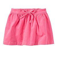 Toddler Girl Carter's Corduroy Skirt