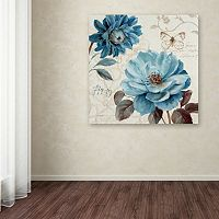 Trademark Fine Art A Blue Note III Canvas Wall Art