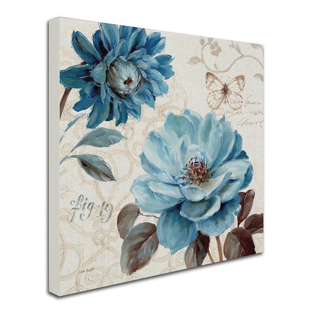 Trademark Fine Art A Blue Note III Canvas Wall Art