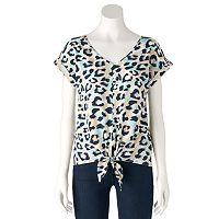 Women's Juicy Couture Knot Top