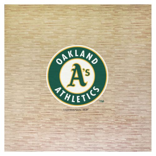 Oakland Athletics 8' x 8' Portable Tailgate Floor