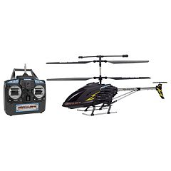 World Tech Toys Hercules X Black Series Unbreakable Remote Control Helicopter by