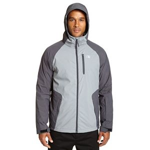 Big & Tall Champion Colorblock 3-in-1 Systems Hooded Jacket