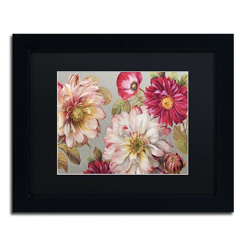 Trademark Fine Art Classically Beautiful I Black Framed Wall Art