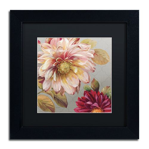 Trademark Fine Art Classically Beautiful III Black Framed Wall Art