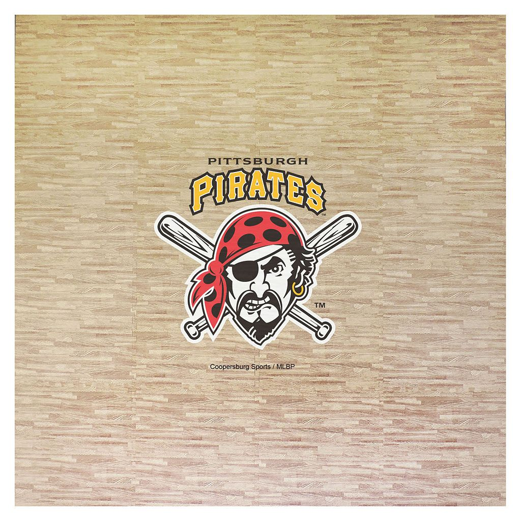 Pittsburgh Pirates 8' x 8' Portable Tailgate Floor