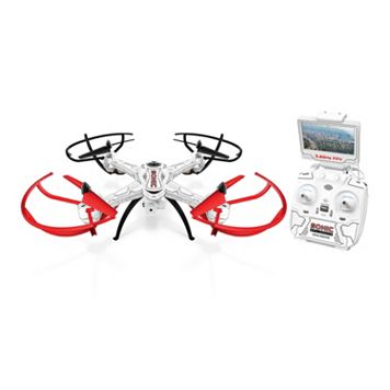 World Tech Toys Sonic Live-Feed Video Electric Gimbal Remote Control Quadcopter Drone