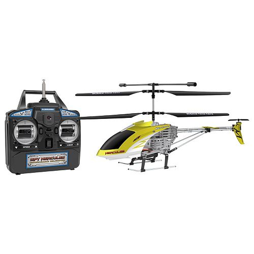 World Tech Toys Spy Hercules Unbreakable Remote Control Camera Helicopter