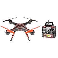 World Tech Toys Wraith HD Video Camera Remote Control Quadcopter Spy Drone