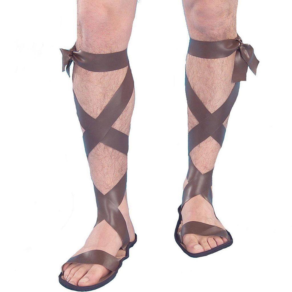 Adult Roman Gladiator Costume Sandals