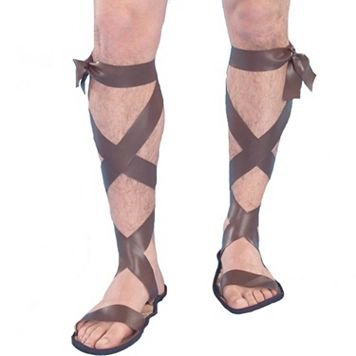 Adult Roman Gladiator Costume Sandals
