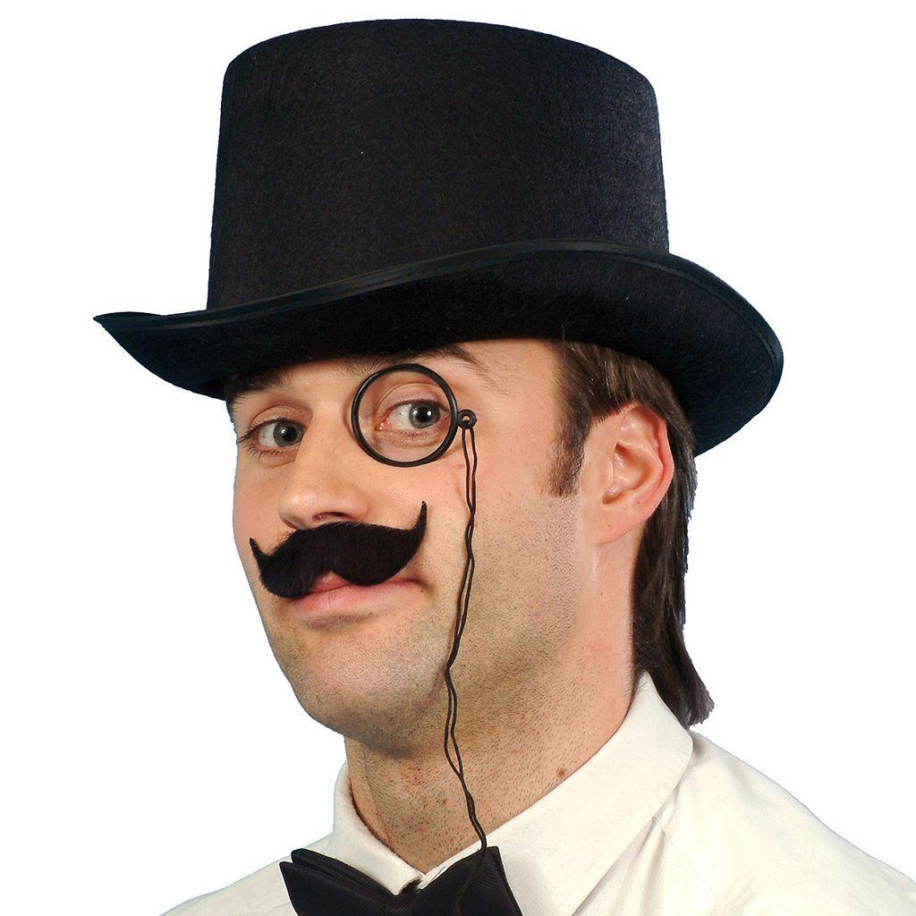 Adult Debonair Felt Costume Top Hat