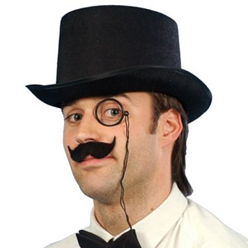 Adult Debonair Felt Costume Top Hat