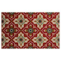 Natco Terrace Tropic Bluffton Floral Indoor Outdoor Rug