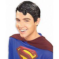 Adult DC Comics Superman Vinyl Costume Wig