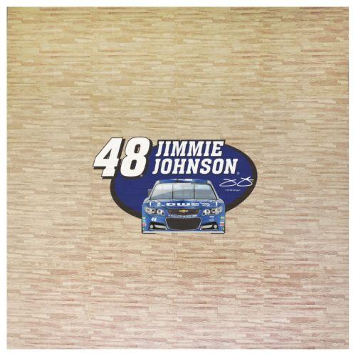 Jimmie Johnson 8′ x 8′ Portable Tailgate Floor