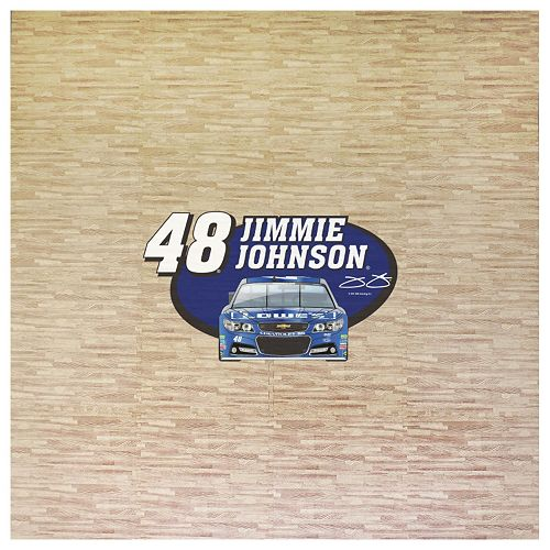 Jimmie Johnson 8′ x 8′ Portable Tailgate Floor