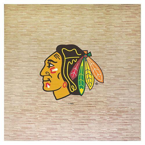 Chicago Blackhawks 8' x 8' Portable Tailgate Floor