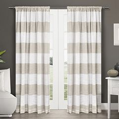 Exclusive Home 2-pack Darma Window Curtains