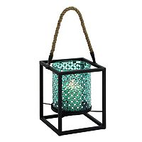 Updated Traditional Mosaic Lantern Candle Holder