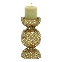 New Traditional Mosaic Pillar Candle Holder