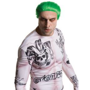 Adult DC Comics Suicide Squad Joker Costume Wig