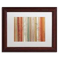 Trademark Fine Art Spiced II Wood Finish Framed Wall Art
