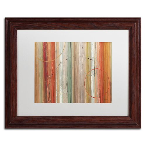 Trademark Fine Art Spiced II Wood Finish Framed Wall Art