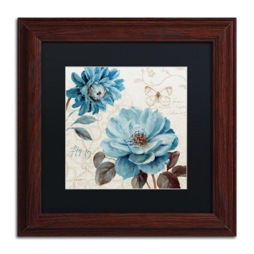 Trademark Fine Art A Blue Note III Wood Finish Framed Wall Art