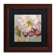 Trademark Fine Art Classically Beautiful II Wood Finish Framed Wall Art