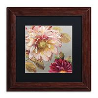 Trademark Fine Art Classically Beautiful III Wood Finish Framed Wall Art